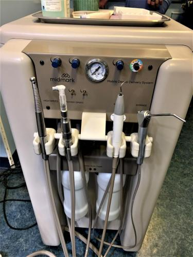 New dental machine
